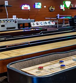 Norcross Store - shuffle board tables