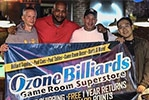 Ozone Billiards Sponsored Tours