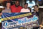 Ozone Billiards Sponsored Tours