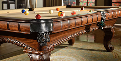Ozone Billiards Billiard Supplies Pool Cues Pool Tables More - Billiard table and accessories