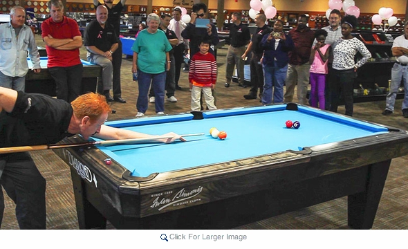 American Cancer Society Event at Ozone Billiards
