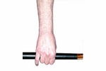 Proper Stroke of a Pool Cue - Neutral Position